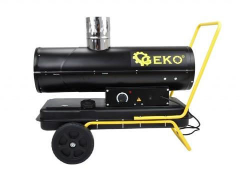 Horkovzdušná naftová turbína s odvodem spalin, 25kW GEKO