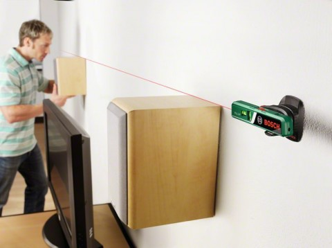 Čárový laser + vodováha v jednom Bosch PLL 1 P, 0603663320
