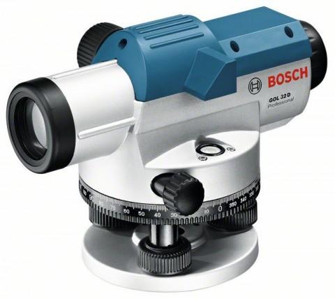 Optický nivelační přístroj Bosch GOL 32 D Professional + stativ, 0601068502