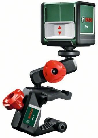 Samonivelační křížový laser Bosch Quigo, rozsah 10m, 0603663521