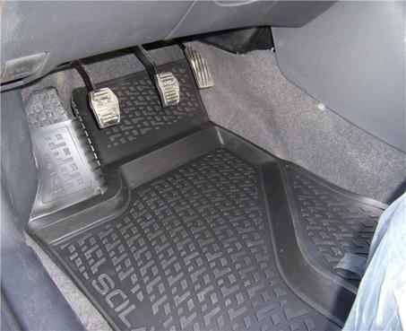 Gumové koberce Peugeot 4008 (12-)  (2D) SIXTOL