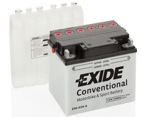 Baterie Exide 12V 30Ah E60-N30-A, EXIDE