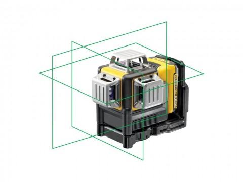 Aku křížový laser 360° 10,8 V 2,0Ah DeWALT DCE089D1G