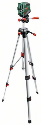 Samonivelační křížový laser Bosch PCL 20 Set, stativ, 0603008221