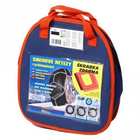 Sněhové řetězy X110 3,0mm 9mm NYLON BAG COMPASS