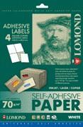 LOMOND Samolepiace etikety 4/105x148,5 A4, 50 hárk