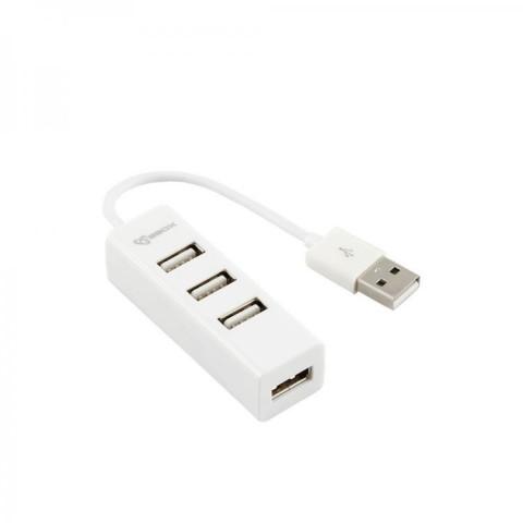 SBOX H-204W white USB 2.0 port 4x