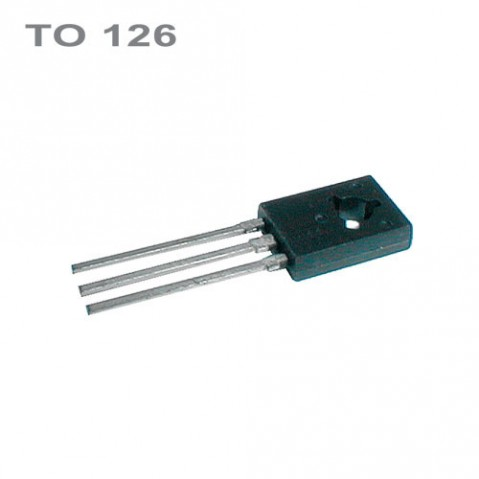 Tranzistor BD138  PNP 60V,1.5A,8W,75MHz  TO126  *