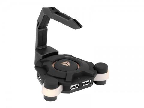 Redukcia USB hub YENKEE YHB 3004 STING herná