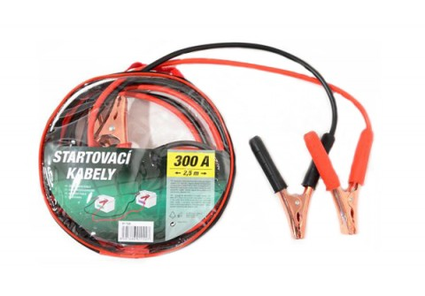 Káble štartovacie 300A 2,5m COMPASS 01122