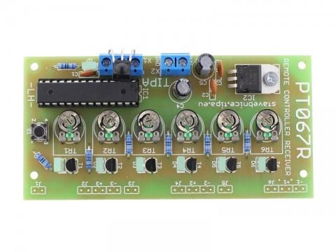 Stavebnica TIPA PT067R Infračervené diaľkové ovládanie (prijímač)