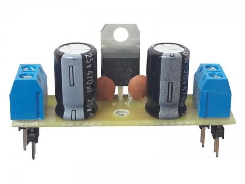 Stavebnica TIPA PT066B Miniatúrne stabilizovaný zdroj