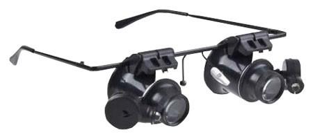 Okuliare s lupou HADEX P336