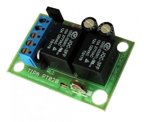 Modul TIPA PT020 +12V Automatické rozsvecovanie svetiel automobilu