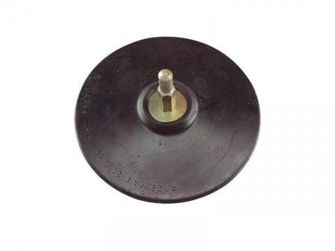 Tanier unášací so suchým zipsom so stopkou, 125mm, pevný EXTOL CRAFT