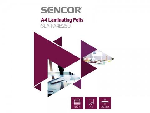 Fólie laminovacie SENCOR SLA FA4B250 A4 250mic 100ks