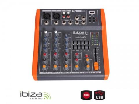 Pult mixážny IBIZA MX401