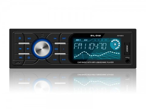 Autorádio BLOW AVH-8610 MP3, USB, SD, MMC, FM