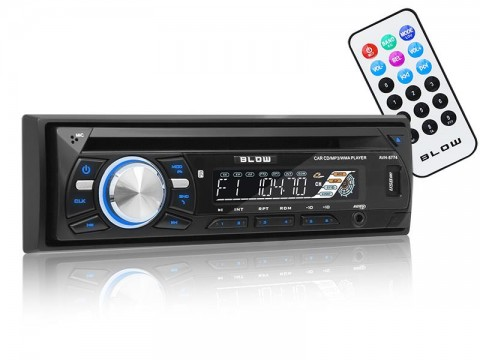 Autorádio BLOW AVH-8774 MP3, USB, SD, MMC, FM, CD + diaľkový ovládač