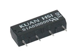 Relé  5V 0.5A/100VDC  1x spín.  S1A05