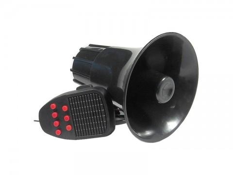 Siréna HADEX Q254A s mikrofónom 7 tónov + hovorené slovo