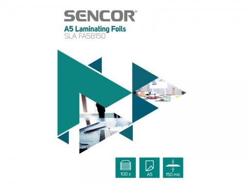 Fólie laminovacie SENCOR SLA FA5B150 A5 150mic 100ks