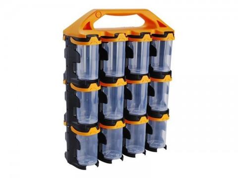 Organizér modulový prenosný, 24 modulov, PP, EXTOL 78908