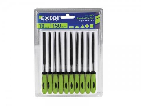 Sada pilníkov EXTOL CRAFT 8801 10ks