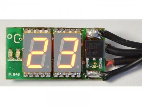 Stavebnica TIPA PT046 Miniatúrny digitálny SMD tepolmer