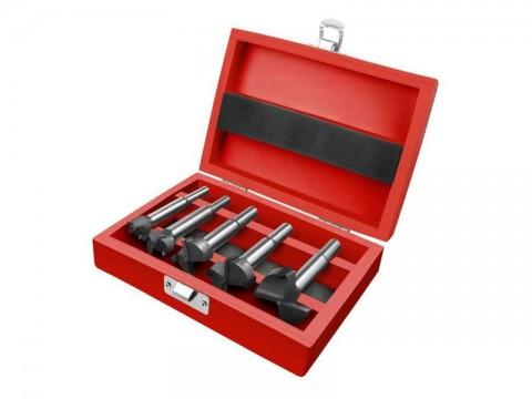 Sada fréz-sukovníky do dreva s SK plátkami, priemery EXTOL PREMIUM 8802030 5ks