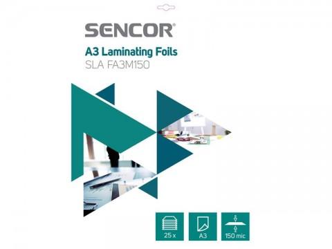 Fólie laminovacie SENCOR SLA FA3M150 A3 150mic 25ks