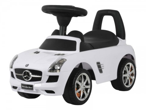 Odrážadlo Mercedes BUDDY TOYS BPC 5110 biele