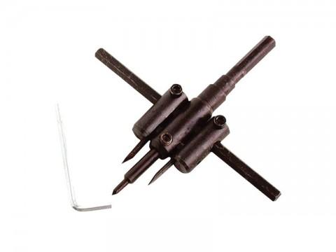 Vyrezávač otvorov, nastaviteľný, pr.30-120mm EXTOL CRAFT