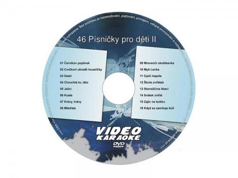 Karaoke DVD Pesničky pre deti II