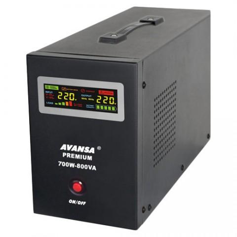 Zdroj záložný AVANSA UPS 700W 12V