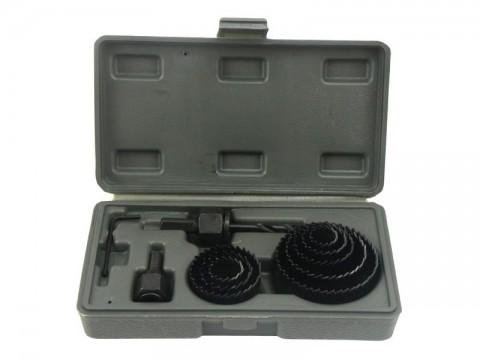 Vrtáky vykružovací korunkové, max. hloubka vrtu 25mm, 19-64mm, GEKO