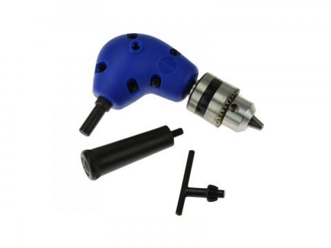 Nástavec úhlový pro vrtačku, 1,5-10 mm, GEKO