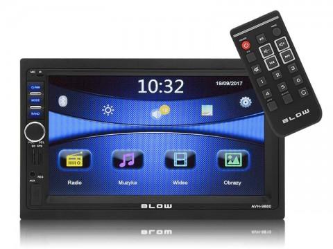 Autorádio BLOW AVH-9880 MP3, USB, SD, MMC, FM, GPS, BLUETOOTH + diaľkové ovládanie