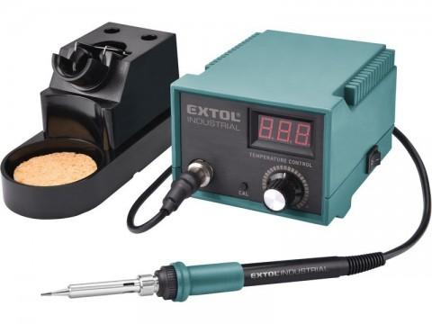 Stanice pájecí s LCD a el. regulací teploty, záruka 3 roky EXTOL-INDUSTRIAL