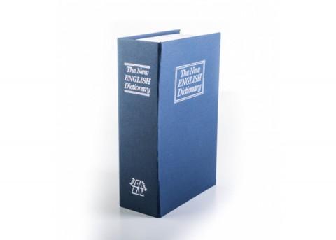 Trezor v tvare knihy G21 180 x 115 x 55 mm T-180BBK