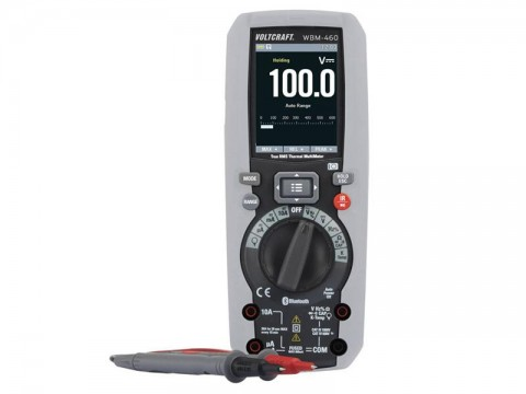 Multimeter VOLTCRAFT WBM-460 s termokamerou 80 x 80 pix