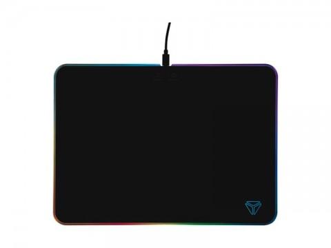 Podložka pod myš YENKEE RGB YPM 3005 SHIELD herná