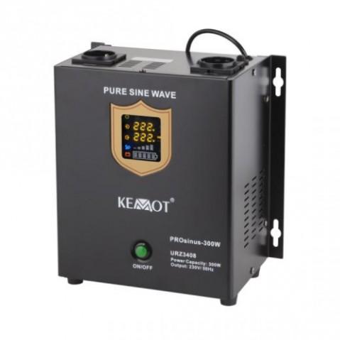 Zdroj záložný KEMOT PROsinus 300W 12V nástenný