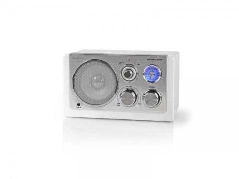 Rádio NEDIS RDFM5100WT WHITE
