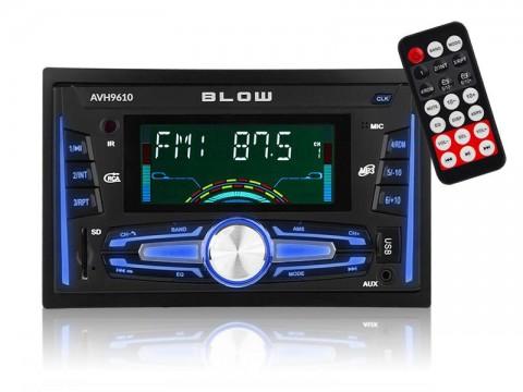 Autorádio BLOW AVH-9610 MP3, USB, SD, MMC, FM, BLUETOOTH + diaľkový ovládač