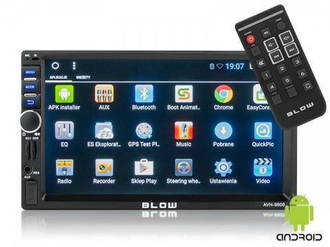 Autorádio BLOW AVH-9900 MP3, USB, SD, MMC, FM, GPS, WIFI, BLUETOOTH + diaľkový ovládač