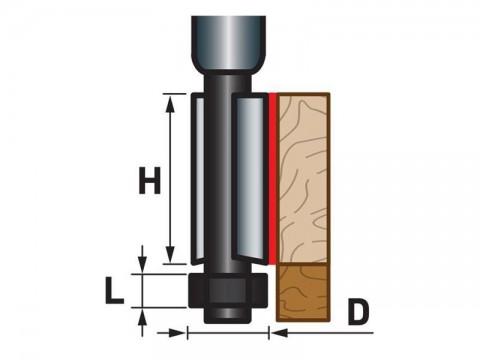 Fréza orezávací do dreva EXTOL PREMIUM 8802123