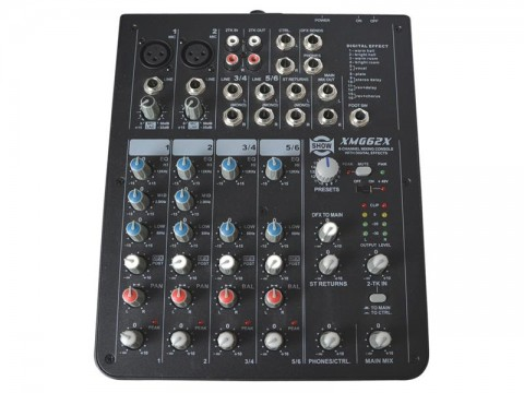 Pult mixážny SHOW XMG-62X