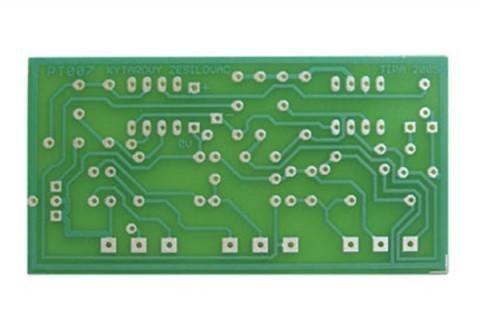 Plošný spoj TIPA PT007 Gitarový a mikrofóny korekčný prezosilňovač