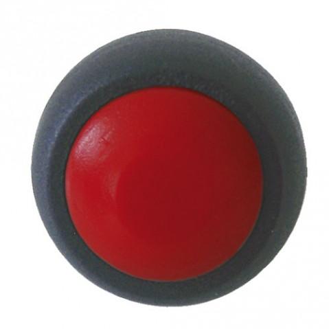 Prepínač tlačidlo okrúhle OFF-(ON)  stred. červené